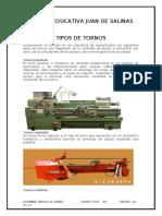 TYPOS DE TORNO