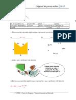 questões BNCC algebra