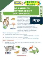 Los-Animales-Invertebrados-y-Vertebrados-para-Segundo-Grado-de-Primaria