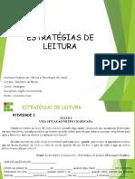 1 - ESTRATÉGIAS DE LEITURA SOLD