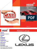 CASE on Lexus