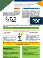 Poster- Riesgo Publico