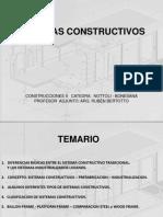 CONSTRUCCIONES 2 - TEORICA 2 - SISTEMAS CONSTRUCTIVOS EN GRAL
