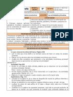Marzo - 5to Grado Geografía (2019-2020)
