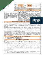 Marzo - 5to Grado Formación C y E (2019-2020)