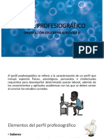 PERFIL PROFESIOGRÁFICO.cuarto semestre bloque II