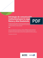 Libro de estrategias de comunicación