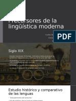 Precursores de la lingüística moderna.pptx