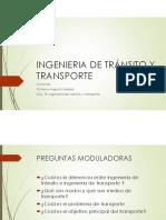 Clase transito y transporte