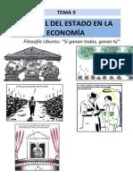 Tema 9. Desequilibrios Económicos y El Papel Del Estado