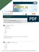 Teste 1