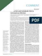 Vinculo metabolico y endocrino coronavirus y estres OJO