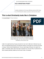 this is what christianity looks like in zimbabwe - the christian post