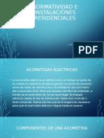 Normatividad e Instalaciones Residenciales 3