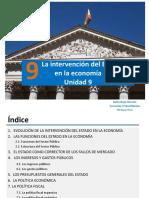 Unidad 9_ La Intervención Del Estado en La Economía_1ºBachillerato_presentación