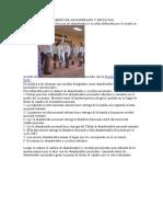 PROTOCOLO DEL CAMBIO DE ABANDERADO Y ESCOLTAS