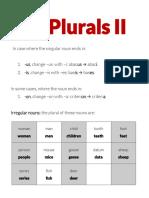 Plurals II