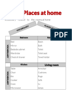 Places at home