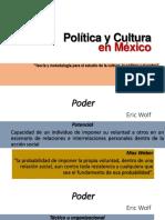 Política y Cultura en México
