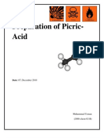 preparation of Picric Acid