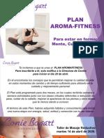 Invitacion al Plan AromaFitness