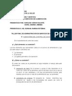 TALLER FINAL DE ADMINISTRACION- CAROLINA Y KAROL