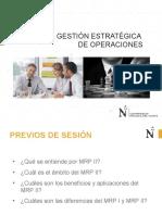 GESOP 2020  Sesión 2 - El Sistema MRP II JGV