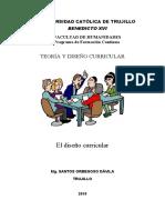 TEORÍA Y DISEÑO CURRICULAR MODULO  3