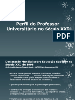 Perfil do Professor Universitário no Século XXI