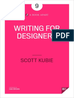 [sachit.net]Writing for Designers
