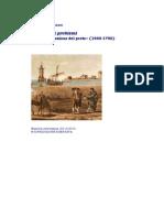 Un mare di problemi, 1669-1792