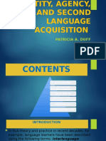 IDENTITY, AGENCY, AND SECOND LANGUAGE ACQUISITION.pptx