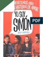 Becky Albertalli, Yo Soy Simón
