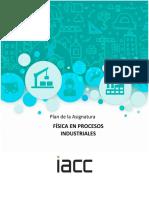 Plan de Asignatura - Física en Procesos Industriales