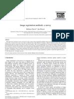 Image Registration Methodsa Survey