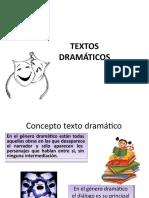 PPT TEXTO DRAMATICO