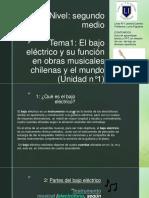 PPT UNIDAD UNO BAJO segundo medio-convertido (1).pdf