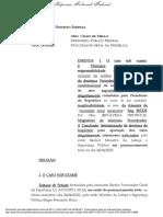 Decisão STF Moro x Bolsonaro