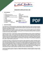 P.C.A. PRIMARIA-COMUNICACION 2020-5RO GRADO