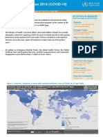 WHO COVID-19 situation report April 27, 2020