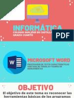 Informática Semana 4