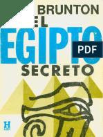 El Egipto secreto, Paul  Brunton.pdf