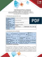 Guía de actividades y rúbrica de evaluación – Fase 2- Planteamiento del Problema y Fundamentos teóricos y conceptuales de la inv