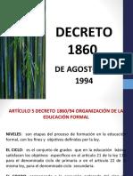 Código Educativo Decreto 1860.ppt