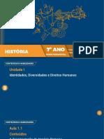 AULA 1- A DESAGREGAÇÃO DO IMPÉRIO ROMANO - 7 ANO