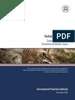TECHNICAL GUIDE TERRESTRIAL VERTEBRATE FAUNA SURVEYS FOR ENVIRONMENTAL IMPACT ASSESSMENT.pdf