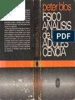 Blos, Peter - Psicoanálisis de la adolescencia.pdf