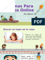 Normas Para Clases Online