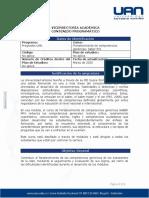 CONTENIDO PROGRAMÁTICO- CURSO NACIONAL SABER PRO 2020