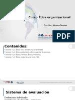 sesión 3y4- Etica organizacional- MBA 139.pptx